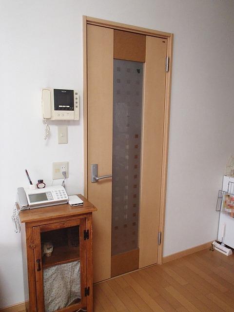 工事前 リビングのドア
