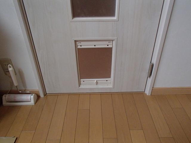 猫ちゃんの出入口