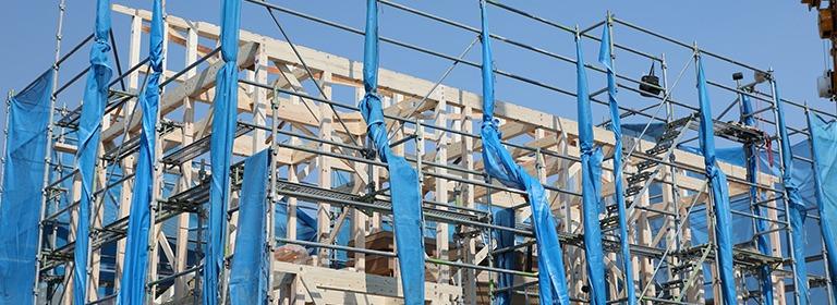 奈良で新築一戸建ての上棟