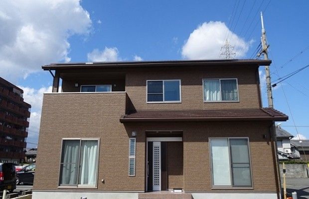 大和高田市の長期優良住宅の外観