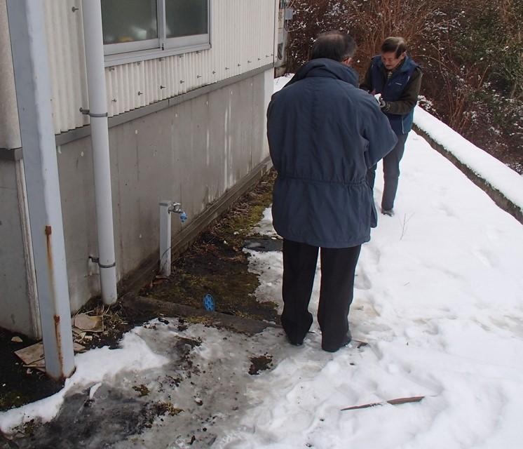水道管復旧工事